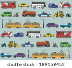 vector seamless pattern with... | Shutterstock .eps vector #189159452