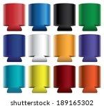 koozies collapsible is an... | Shutterstock . vector #189165302