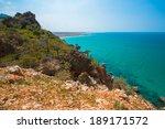 rock and sea landscape | Shutterstock . vector #189171572
