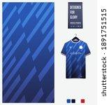 fabric pattern design.... | Shutterstock .eps vector #1891751515