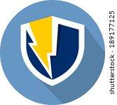 guard shield flat icon
