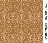 art deco seamless pattern in a... | Shutterstock .eps vector #1891858462