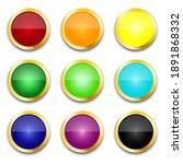 multicolored buttons. retro...