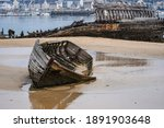 Stranded Fishing Boats On The...
