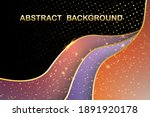 abstract geometric line... | Shutterstock .eps vector #1891920178