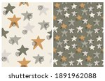 simple seamles vector patterns... | Shutterstock .eps vector #1891962088