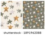 simple seamles vector patterns... | Shutterstock .eps vector #1891962088