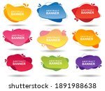 collection of modern banners... | Shutterstock .eps vector #1891988638