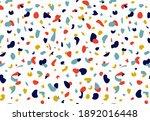 terrazzo vector seamless... | Shutterstock .eps vector #1892016448