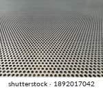Sheet Of A Perforated Stainless ...