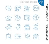 discount related icons.... | Shutterstock .eps vector #1892043352