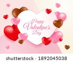 high quality love background... | Shutterstock .eps vector #1892045038