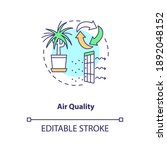 air quality concept icon.... | Shutterstock .eps vector #1892048152