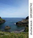 Tintagel Castle Cliffs And...
