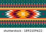 geometric ethnic pattern...   Shutterstock .eps vector #1892109622