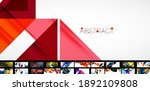 set of universal geometric... | Shutterstock .eps vector #1892109808
