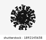 coronavirus  covid 19 virus...   Shutterstock .eps vector #1892145658