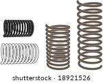 vector images shows metal... | Shutterstock .eps vector #18921526
