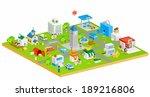 illustration of city   Shutterstock . vector #189216806