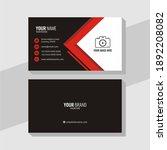 design template of business... | Shutterstock .eps vector #1892208082