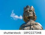 vintage cracked wooden king... | Shutterstock . vector #1892227348