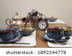 A Fragment Of The Table Setting ...