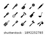 kitchenware and kitchen vector...