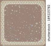 polka dot background. square... | Shutterstock .eps vector #189225782