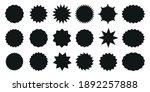 starburst speech bubbles.... | Shutterstock .eps vector #1892257888