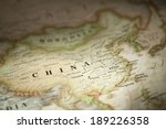 china on world map | Shutterstock . vector #189226358