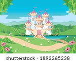 fabulous background with the... | Shutterstock .eps vector #1892265238