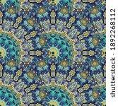 Fractal Floral Seamless Pattern....