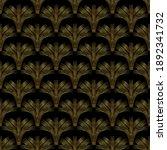 golden seamless pattern ...   Shutterstock .eps vector #1892341732