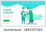 plastic surgeon aesthetic... | Shutterstock .eps vector #1892357365