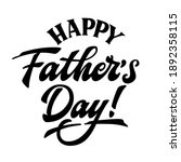 happy father's day   hand drawn ... | Shutterstock .eps vector #1892358115