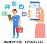 medical application on...   Shutterstock .eps vector #1892363152