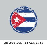 grunge rubber stamp with cuba... | Shutterstock .eps vector #1892371735