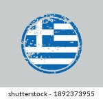 grunge rubber stamp with greece ... | Shutterstock .eps vector #1892373955