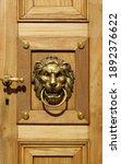 Antique Door Knocker And...