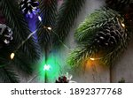 Winter Festive Composition With ...