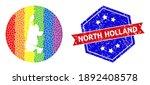 Pixel Spectrum Map Of North...