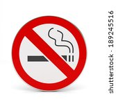 no smoking sign | Shutterstock . vector #189245516