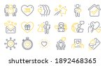 set of love icons  such as... | Shutterstock .eps vector #1892468365