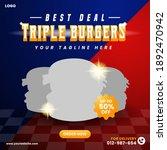 Best Deal Triple Burgers Social ...