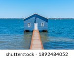 Blue Boat House In Perth ...