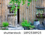 A Beautiful Old Barn With...