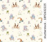 beautiful seamless pattern for... | Shutterstock . vector #1892632225