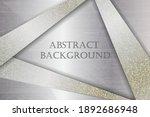 abstract metallic gold black... | Shutterstock .eps vector #1892686948