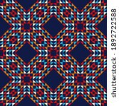 shapes made of triangles. aztec ...   Shutterstock .eps vector #1892722588