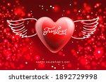 valentine's day poster. true... | Shutterstock .eps vector #1892729998